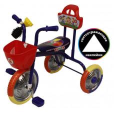 """Велосипед 3-кол. без руч.""""Kinder"""" синий"""