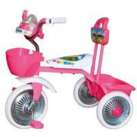 """Велосипед 3-кол. без руч. музык. """"Kinder"""" розовый"""