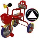 """Велосипед 3-кол. без руч.""""Kinder"""" красный"""
