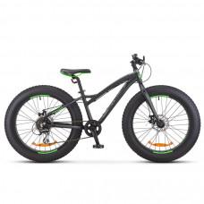 Велосипед Stels Aggressor D 24' V010 Черный