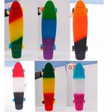"""Скейтборд """"Shark"""" разнацветный"""