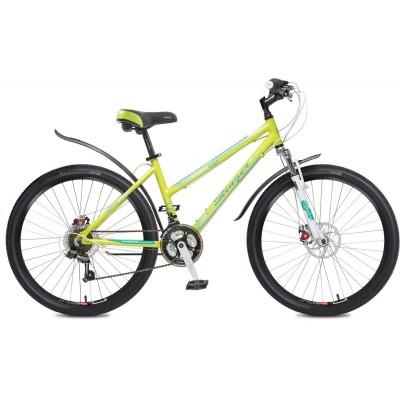 """Женский велосипед  СТИНГЕР 26"""" Element lady D; 16""""; зеленый;"""