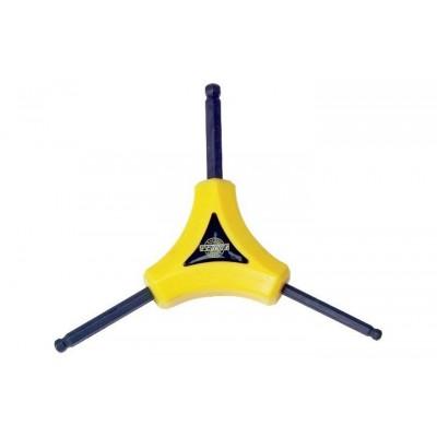 Ключ шестигранный звездочка Pedro's Y Wrench - 4, 5, 6 with ball