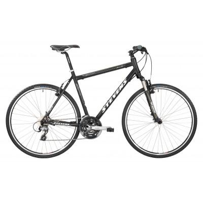 Городской велосипед Stevens X3 SX Gents, Velvet Black (Gold Lines), 55cm