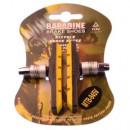 Колодки тормозные Baradine 945V, МТВ, 72мм, желт./черные