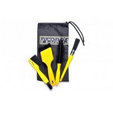 Наборы для ухода за велосипедом Pedros Pro Brush Kit