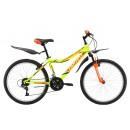 Подростковый велосипед Bravo Jazz 24 желто-красный