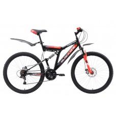 Велосипед Black One Phantom Disc стальной-черный 18