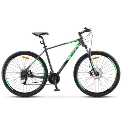 Горный велосипед Stels Navigator 920 MD V010 Антрацитовый/Зелёный 29Ø