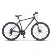 Велосипед Stels Navigator 900 D F010 Чёрный/Зелёный 29Ø
