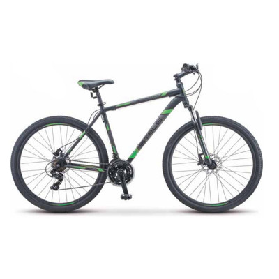 Горный велосипед Stels Navigator 900 D F010 Чёрный/Зелёный 29Ø