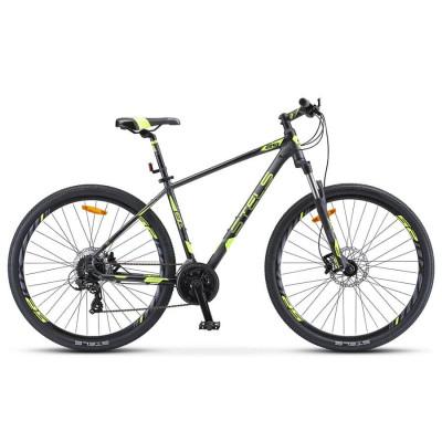 Горный велосипед Stels Navigator 930 D V010 Антрацитовый/Черный/Лайм 29Ø (LU089109)