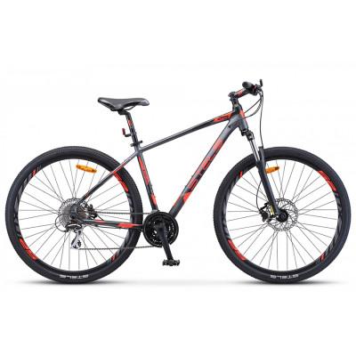 Горный велосипед Stels Navigator 950 D V010 Антрацитовый/Красный/Черный 29Ø (LU094661)