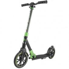 самокат tech team tt sport 230 черно-зеленый
