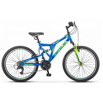 """Подростковый велосипед Mustang MD 24"""" V010 16"""" неоновый-зеленый"""
