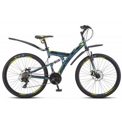 """Горный велосипед Focus MD 27.5"""" 19"""" синий/неоновый/зеленый"""