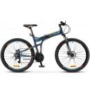 "Складной велосипед STELS Pilot-950 MD 26"" 19"" Тёмно-синий 2020"