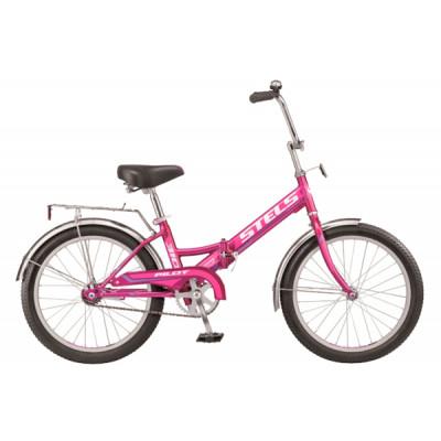 """Складной велосипед STELS Pilot-310 20"""" 13"""" Фиолетовый"""
