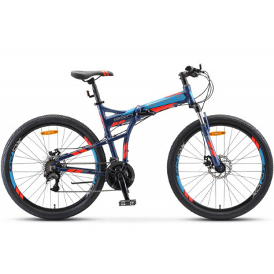 "Складной велосипед  STELS Pilot-950 MD 26"" 17,5"" темно/синий 2020"