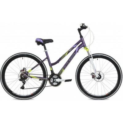 """Горный велосипед Stinger 26"""" Laguna D; 17""""; фиолетовый; 2020"""
