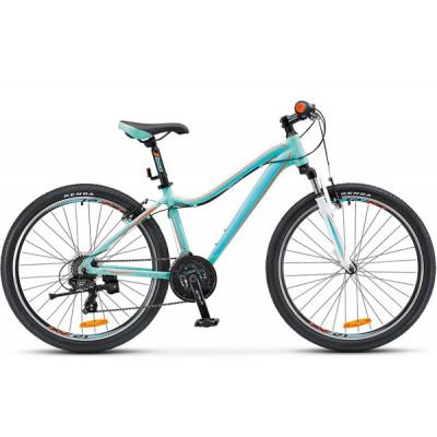 """Горный велосипед Miss-6000 V 26"""" 17"""" Морская-волна/оранжевый"""