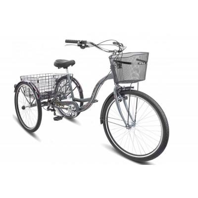 """Городской велосипед Energy-VI 26"""" V010 17"""" Серый"""