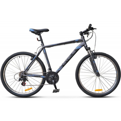 """Горный велосипед Navigator-500 V 26"""" 16"""" Антрацитовый/синий"""