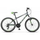 """Подростковый велосипед Navigator-400 V 24"""" 14"""" Серый/зелёный/белый"""