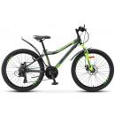 """Горный велосипед Navigator-450 MD 24"""" 13"""" Чёрный/зелёный"""