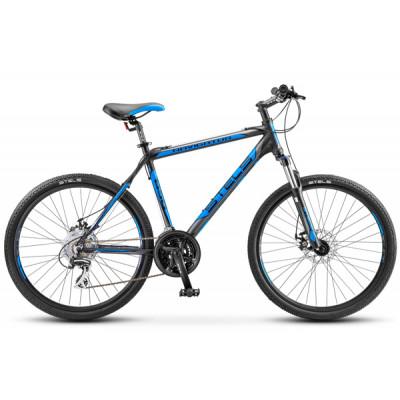 """Горный велосипед Navigator-650 MD 26"""" 16"""" Черный/синий"""