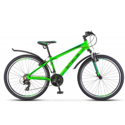 """Горный велосипед Navigator-620 V 26"""" 17"""" Неоновый-зелёный/чёрный"""