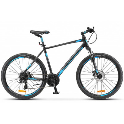 """Горный велосипед Navigator-630 MD 26"""" 18"""" Антрацитовый/синий"""
