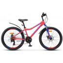 """Подростковый велосипед Navigator-410 MD 24"""" 13"""" Неоновый-красный"""