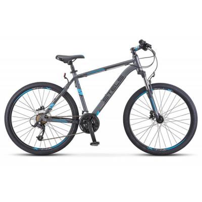 """Горный велосипед Navigator-640 D 26"""" 19"""" Серый/синий"""