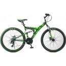 """Горный велосипед Focus MD 26"""" 18"""" Чёрный/зеленый"""