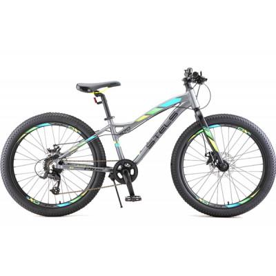 """Горный велосипед Navigator-470 MD 24""""+ 13.5"""" Антрацитовый"""