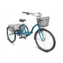 """Городской велосипед Energy-VI 26"""" V010 17"""" Тёмно-зелёный"""