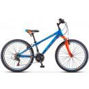 """Подростковый велосипед Navigator-400 V 24"""" 12"""" """" Тёмно-синий/красный"""
