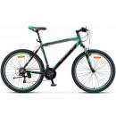 """Горный велосипед Navigator-600 V 26"""" 020 18"""" Антрацитовый/зелёный"""