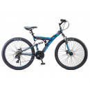 """Горный велосипед Focus MD 26"""" 18"""" Чёрный/синий"""