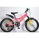 """Подростковый велосипед Rook 20"""" MS200W, розовый/зеленый"""