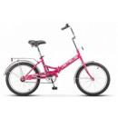 """Подростковый велосипед Pilot-410 20"""" 13.5"""" Малиновый"""
