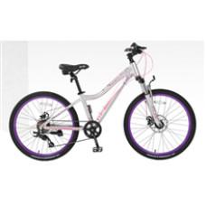 "Велосипед Elis 24""х13"" белый"