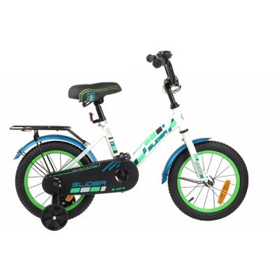 """Велосипед Race light 14"""" белый/ голубой/ зеленый"""