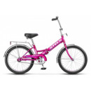 """Подростковый велосипед Pilot-310 20"""" 13"""" Малиновый"""