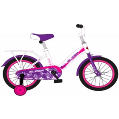 """Велосипед Slider Dream light 20""""белый/фиолетовый"""