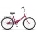"""Подростковый велосипед Pilot-710 24"""" 16"""" Малиновый"""
