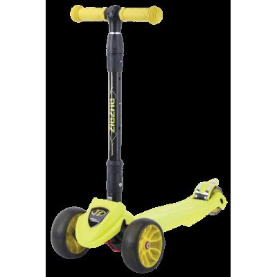 Трехколесный самокат ZigZag 2021 желтый